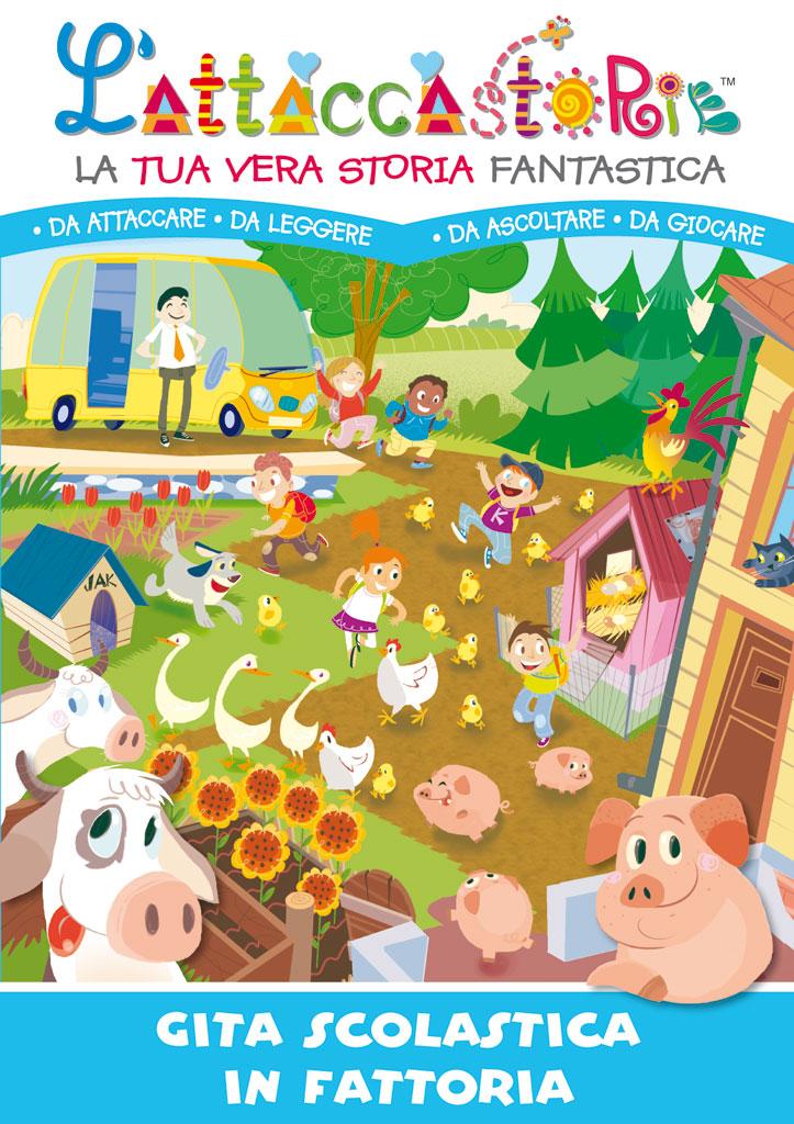 Gita scolastica in fattoria - libro personalizzato
