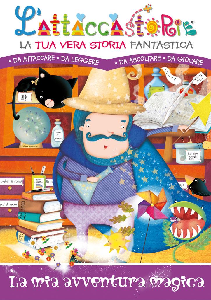 La mia avventura magica - libro personalizzato