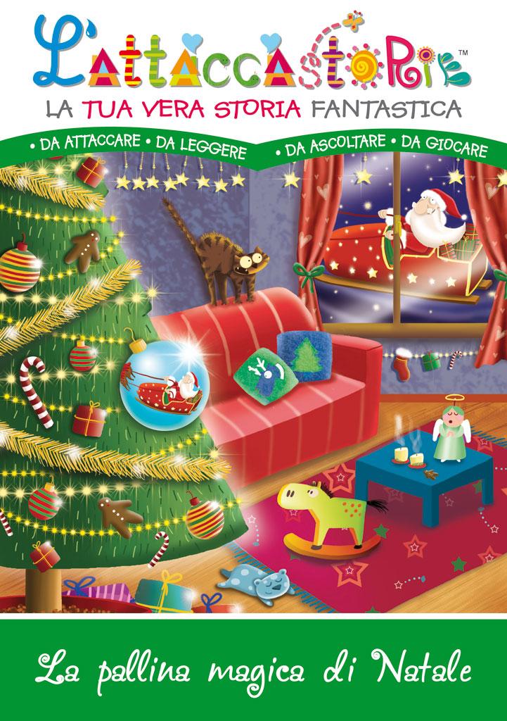 La pallina magica di natale - libro personalizzato