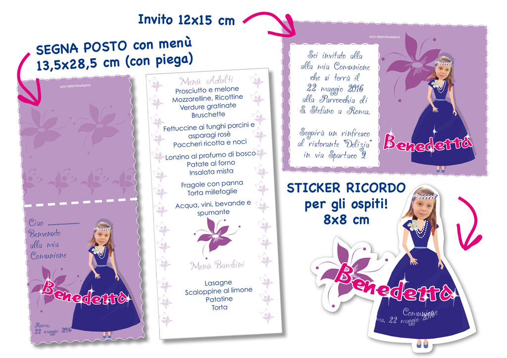 PACK evento speciale bambina