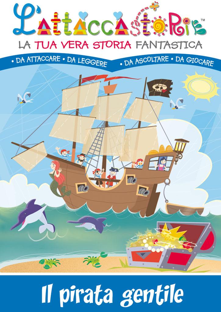 Il pirata gentile - libro personalizzato